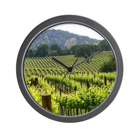 Napa Valley Country Home Decor Gifts Wall Clocks