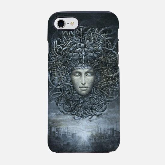 Medusa Cyborg iPhone 7 Tough Case
