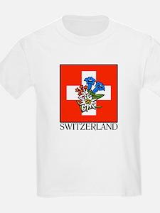 Alpine flowers Kids T-Shirt