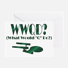 WWQD? Greeting Card