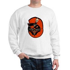 Vintage Pirate Cat Sweatshirt