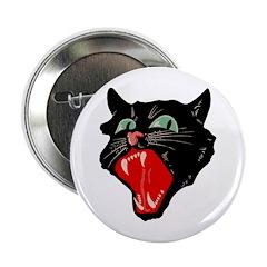 """Retro Scaredy Cat 2.25"""" Button (10 pack)"""