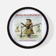 Annie Oakley Wall Clock