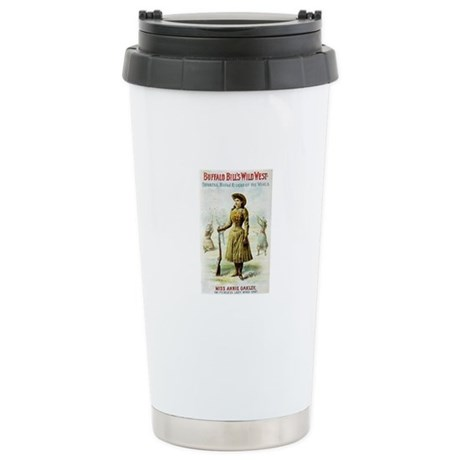 Annie Oakley Stainless Steel Travel Mug