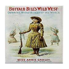 Annie Oakley Tile Coaster
