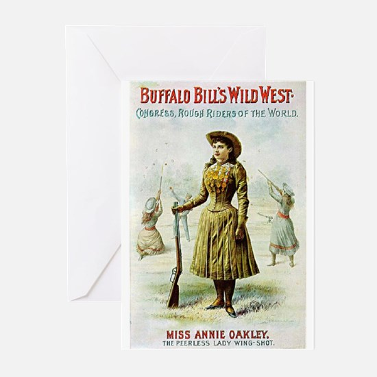 Annie Oakley Greeting Cards (Pk of 20)