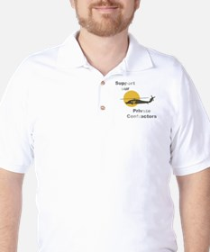 Support our Private Contractors Golf Shirt