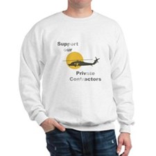 Support our Private Contractors Sweatshirt