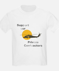 Support our Private Contractors T-Shirt