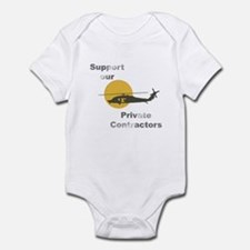 Support our Private Contractors Infant Bodysuit