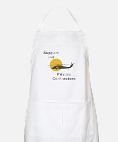 Support our Private Contractors BBQ Apron