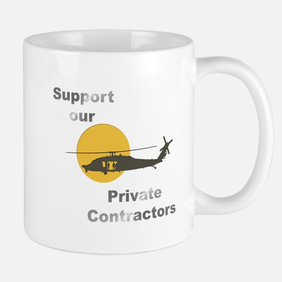 Support our Private Contractors Mug