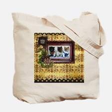 Cairn Terrier Damsel in Distress Tote Bag