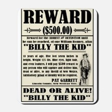 Billy the Kid Mousepad