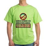 Seven CIA Directors Green T-Shirt