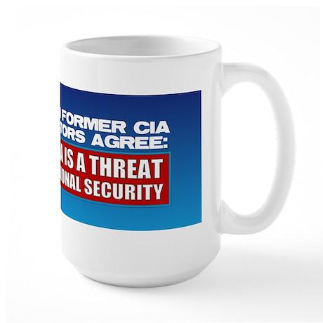 Seven CIA Directors Large Mug