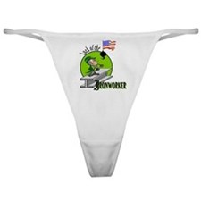 LUCK OF THE IRONWORKER Classic Thong