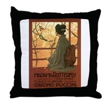 OPERA 1 Throw Pillow
