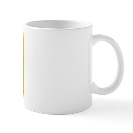 Caffeine Warning CEO On Front of Mug