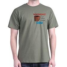 Caffeine Deprived CEO T-Shirt