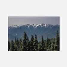 Funny Rocky mountains Rectangle Magnet