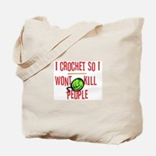 Unique Crochet humor Tote Bag