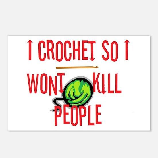 Unique Crochet Postcards (Package of 8)