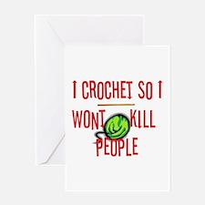 crochetkills090709 Greeting Cards