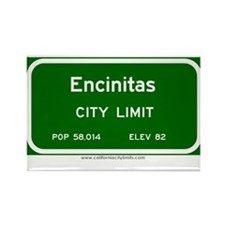 Encinitas Rectangle Magnet