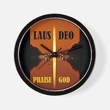 PRAISE GOD ! - Wall Clock