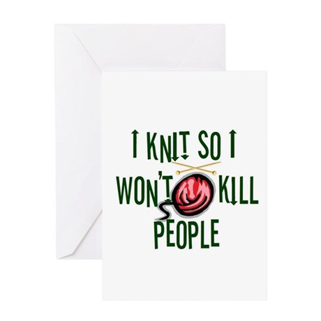 knitkills Greeting Cards