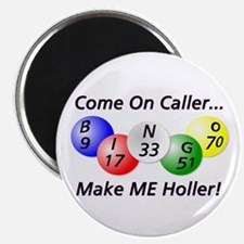 Come on Caller! Bingo! Magnet