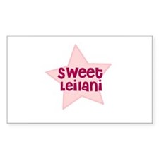 Sweet Leilani Rectangle Decal