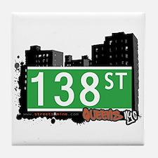 138 STREET, QUEENS, NYC Tile Coaster