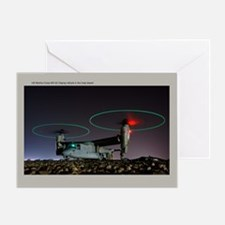 MV-22 Osprey Greeting Card