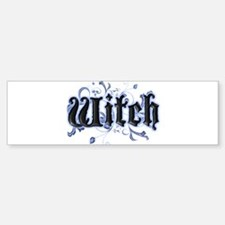 Witch Bumper Bumper Bumper Sticker