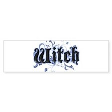 Witch Bumper Bumper Sticker