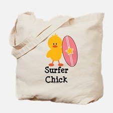 Surfer Chick Tote Bag