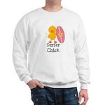 Surfer Chick Sweatshirt