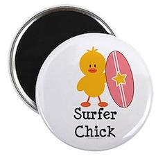 Surfer Chick Magnet