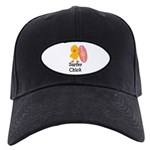 Surfer Chick Black Cap