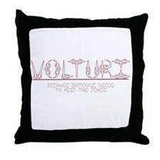Keep the Peace Throw Pillow