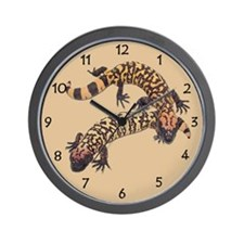 Gila Monster Wall Clock