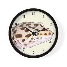 Cute Leopard Wall Clock