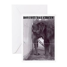 Ban The Circus Greeting Cards (Pk of 10)