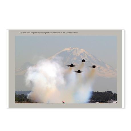 Blue Angels Pass Mt. Rainier Postcards (Package of