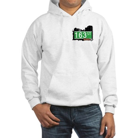 163 STREET, QUEENS, NYC Hooded Sweatshirt