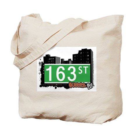 163 STREET, QUEENS, NYC Tote Bag