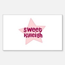 Sweet Kyleigh Rectangle Decal