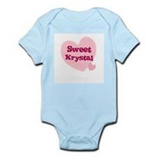 Sweet Krystal Infant Creeper